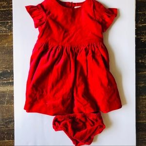 Gymboree red dress 18-24 mos